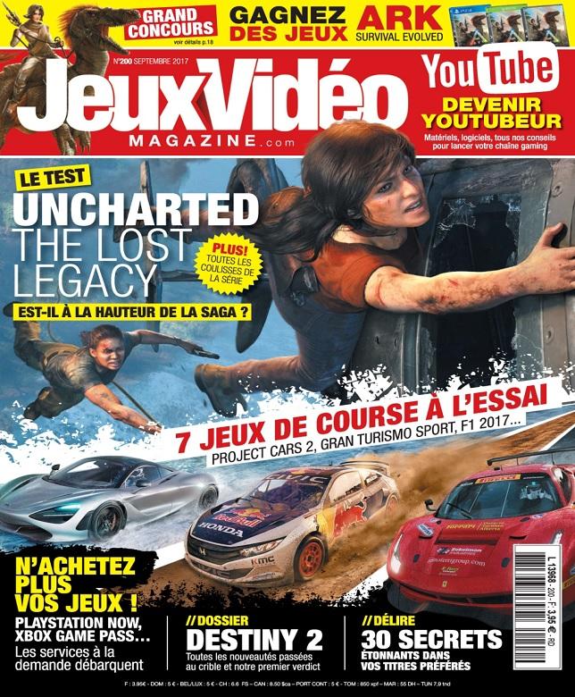 télécharger Jeux Vidéo Magazine N°200 - Septembre 2017