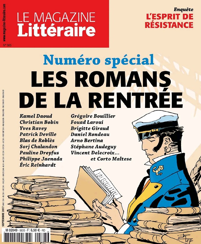 Le Magazine Littéraire N°583 - Septembre 2017