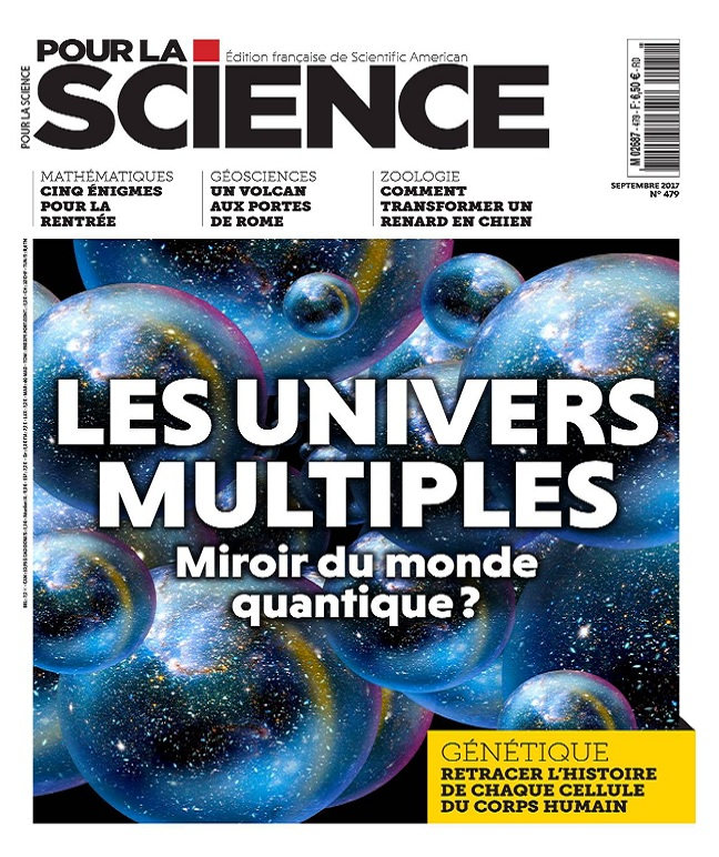 Pour La Science N°479 - Septembre 2017