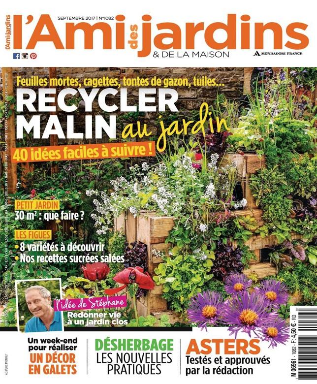 L'Ami Des Jardins N°1082 - Septembre 2017