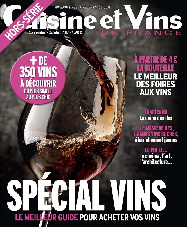 télécharger Cuisine et Vins De France Hors Série N°39 - Septembre-Octobre 2017