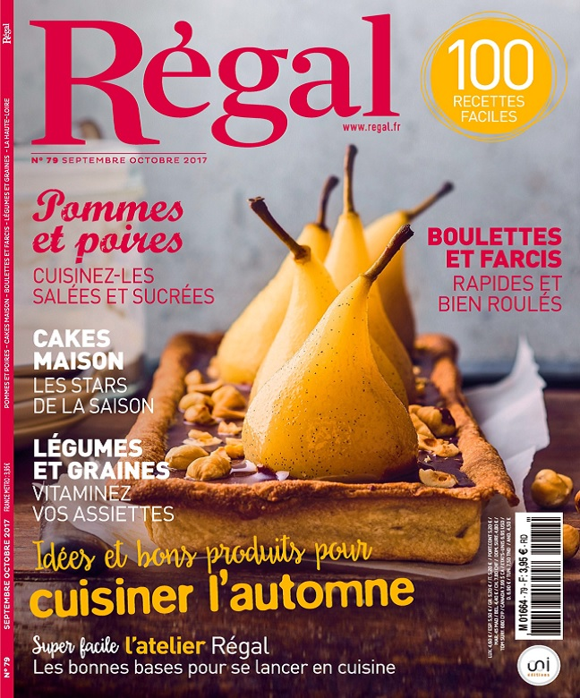 Régal N°79 - Septembre-Octobre 2017