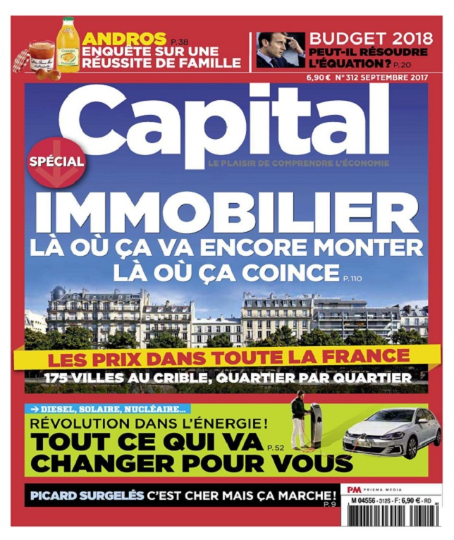 Capital N°312 - Septembre 2017
