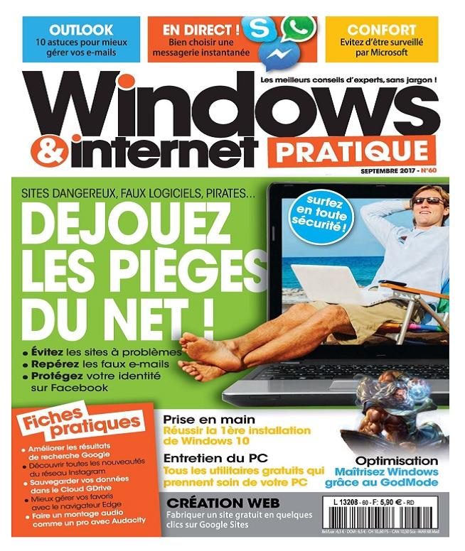 Windows et Internet Pratique N°60 - Septembre 2017