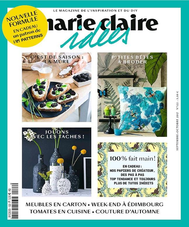 Marie Claire Idées N°122 - Septembre-Octobre 2017