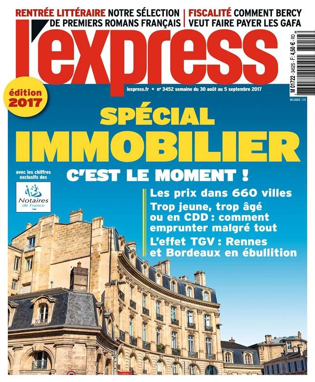 télécharger L'Express N°3452 Du 30 Août 2017