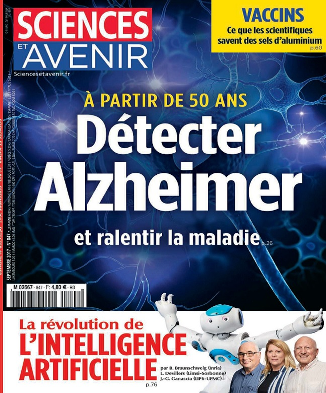 Sciences et Avenir N°847 - Septembre 2017