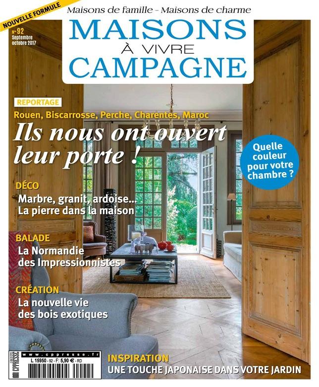 télécharger Maisons à Vivre Campagne N°92 - Septembre-Octobre 2017