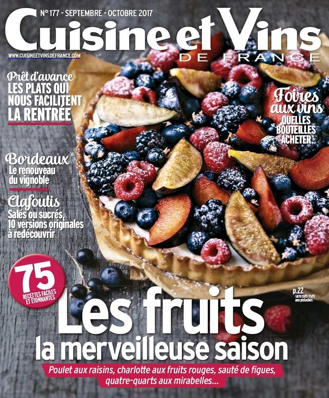 télécharger Cuisine et Vins De France N°177 - Septembre-Octobre 2017