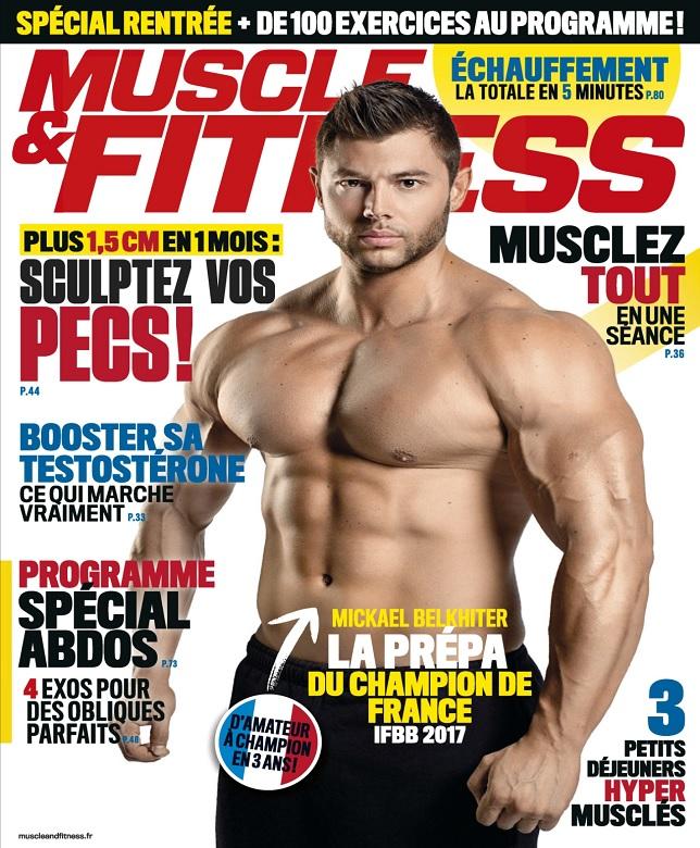 télécharger Muscle et Fitness N°360 - Octobre 2017