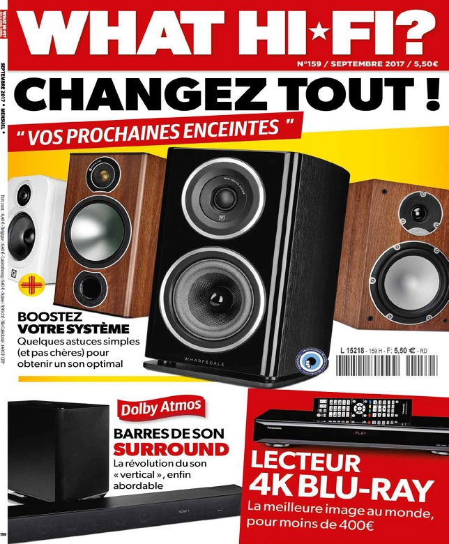 What Hi-Fi N°159 - Septembre 2017