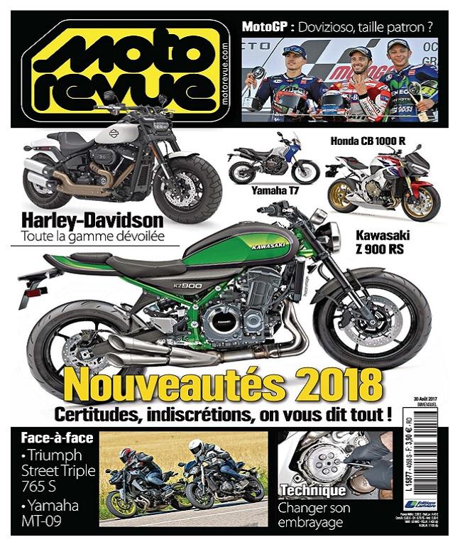 télécharger Moto Revue N°4058 Du 30 Août 2017
