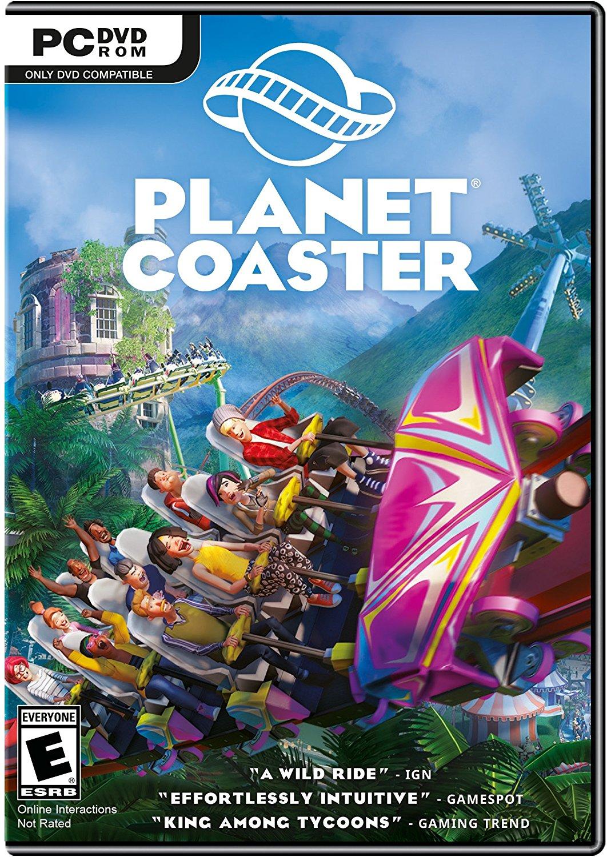Poster for Planet Coaster - Cedar Points Steel Vengeance
