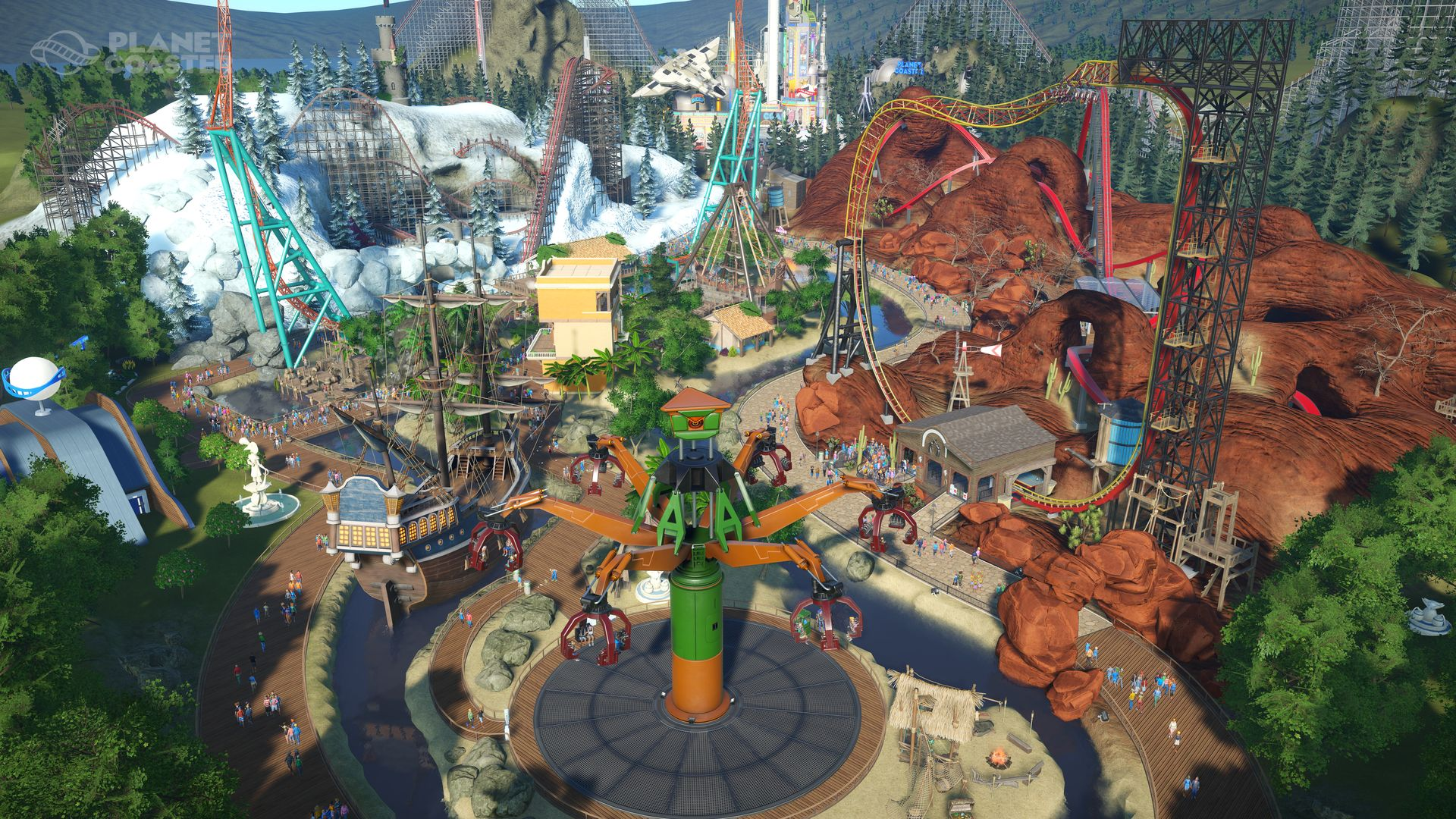 Planet Coaster - Cedar Points Steel Vengeance image 2
