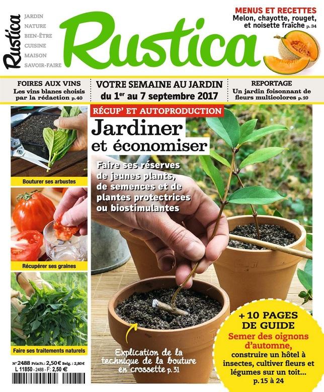 télécharger Rustica N°2486 Du 1er au 7 Septembre 2017