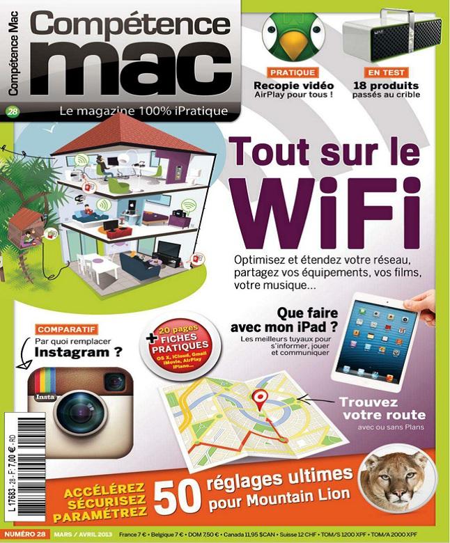 télécharger Compétence Mac N°28 - Tout Sur Le Wifi