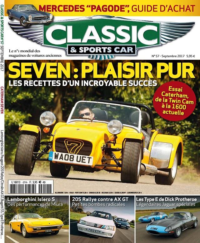 Classic et Sports Car N°57 - Septembre 2017