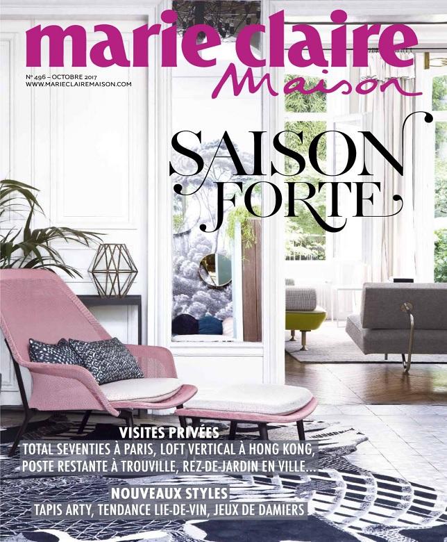 télécharger Marie Claire Maison N°496 - Octobre 2017