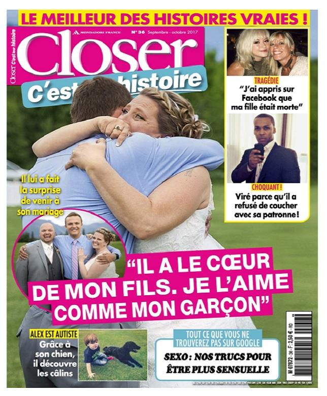 Closer C'est Leur Histoire N°36 - Septembre-Octobre 2017