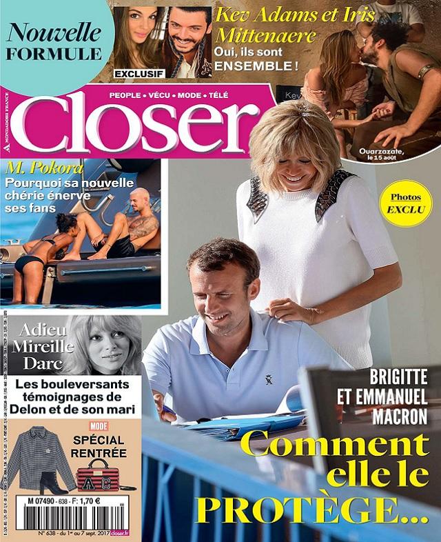 Closer N°638 Du 1er Septembre 2017