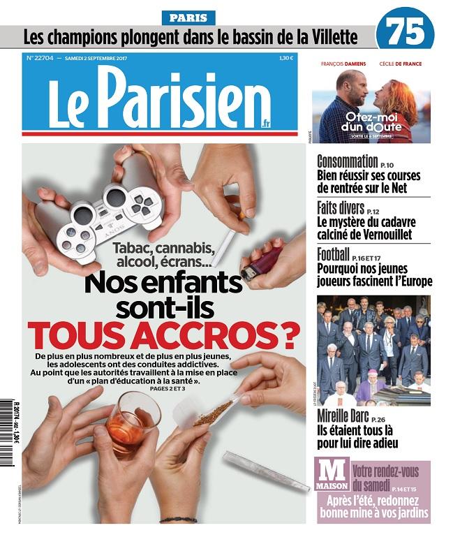 Le Parisien + 3 Départements Du Samedi 2 Septembre 2017