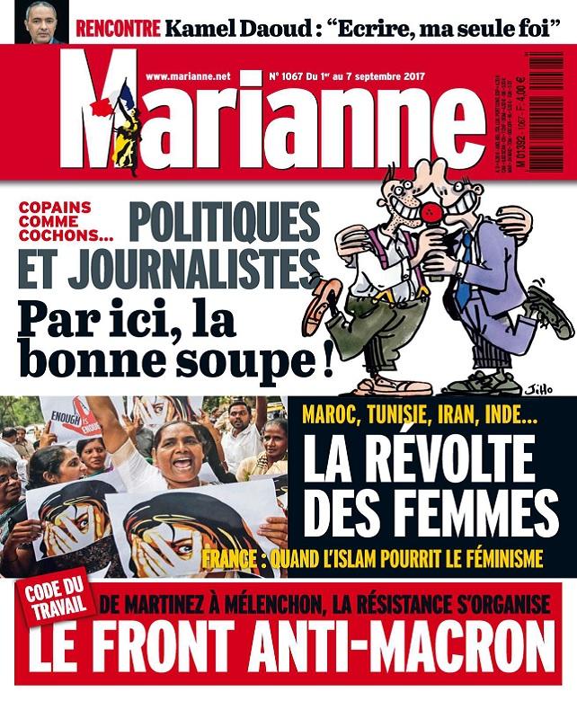Marianne N°1067 Du 1er au 7 Septembre 2017