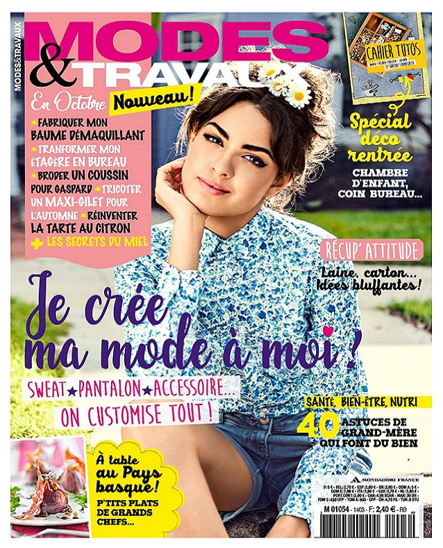 télécharger Modes et Travaux N°1403 - Octobre 2017