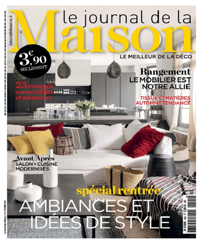Le Journal De La Maison N°495 - Octobre 2017