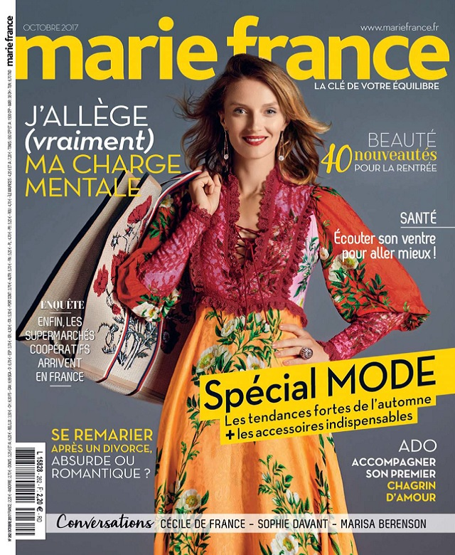 Marie France N°262 - Octobre 2017