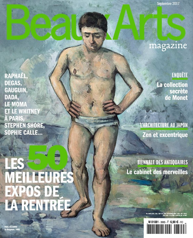 Beaux Arts Magazine N°399 - Septembre 2017