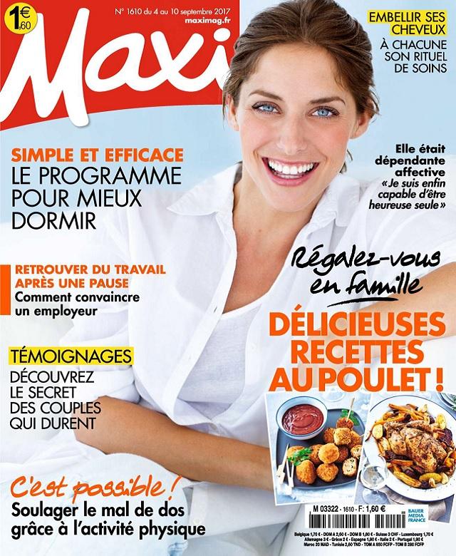 Maxi N°1610 Du 4 au 10 Septembre 2017