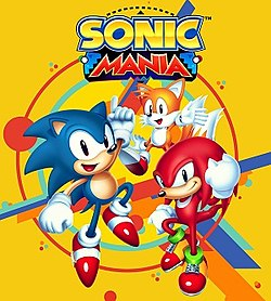 Poster for Sonic Mania