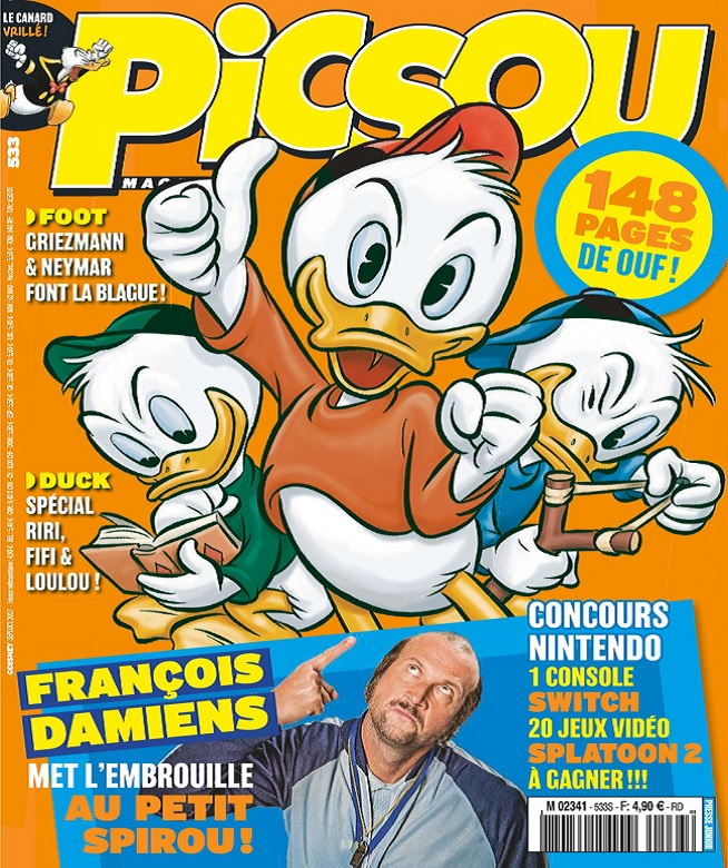 télécharger Picsou Magazine N°533 - Septembre-Octobre 2017