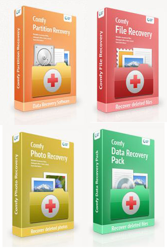 Poster for Comfy File Recovery v3.9 / Photo Recovery v4.5 / Partition Recovery.v2.6