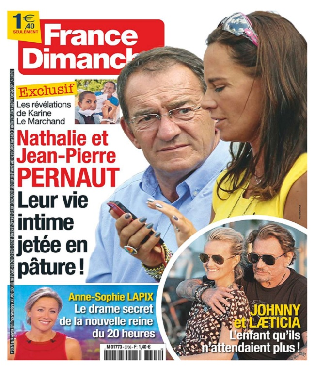 France Dimanche N°3706 Du 8 Septembre 2017