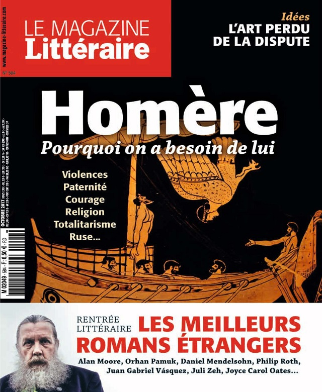 Le Magazine Littéraire N°584 - Octobre 2017