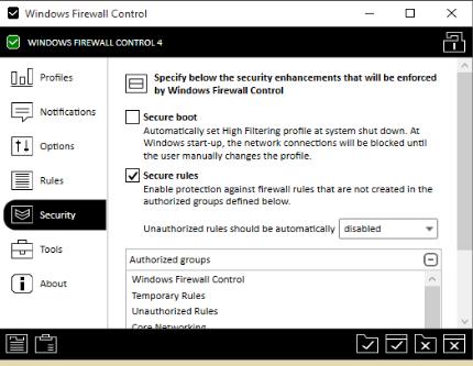 Poster for BiniSoft Windows Firewall Control