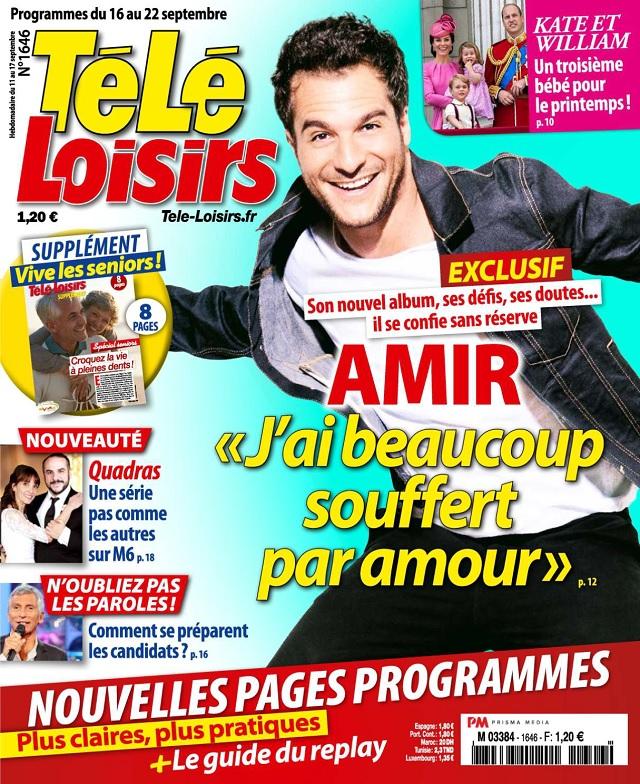 Télé Loisirs N°1646 Du 16 au 22 Septembre 2017