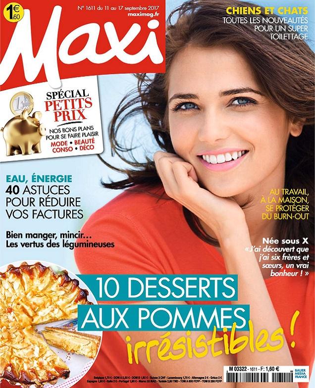 Maxi N°1611 Du 11 au 17 Septembre 2017