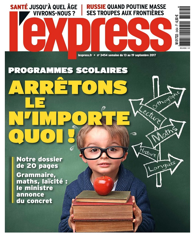 L'Express N°3454 Du 13 Septembre 2017
