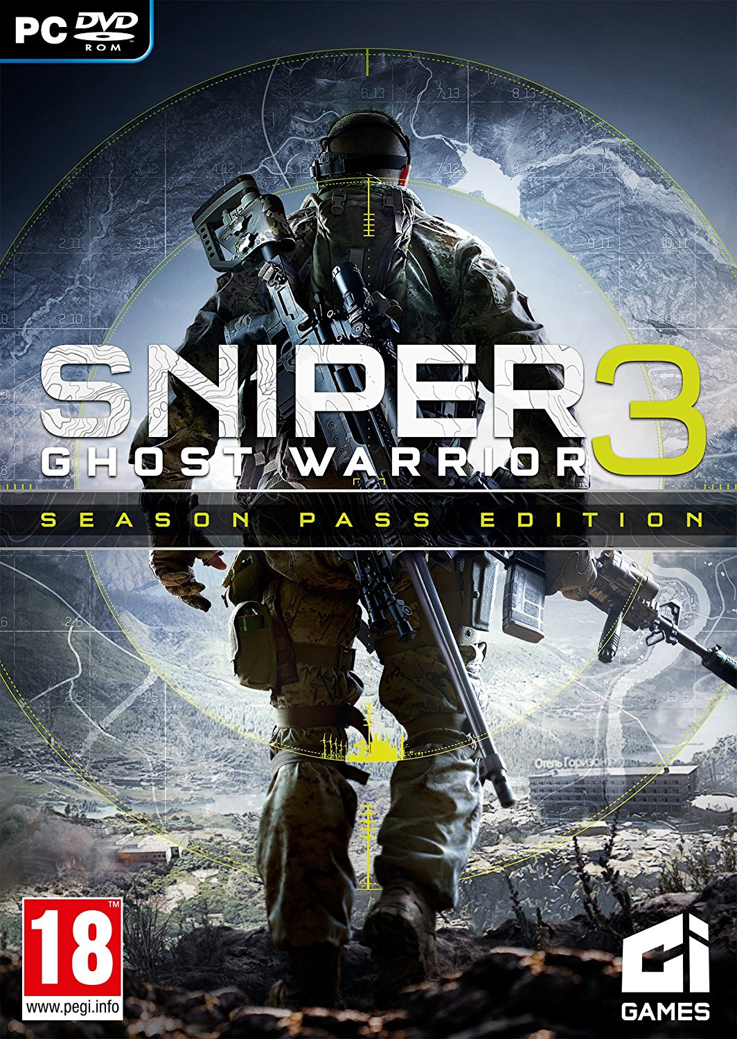 Poster for Sniper: Ghost Warrior 3