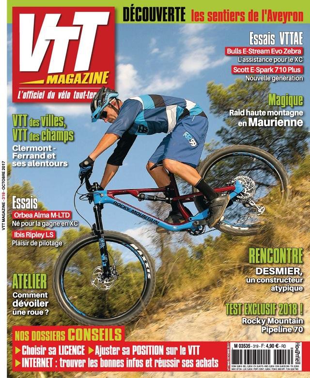 VTT Magazine N°319 - Octobre 2017