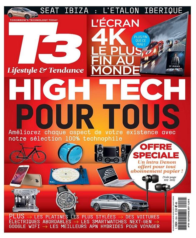 T3 High-Tech Magazine N°19 - Septembre-Octobre 2017