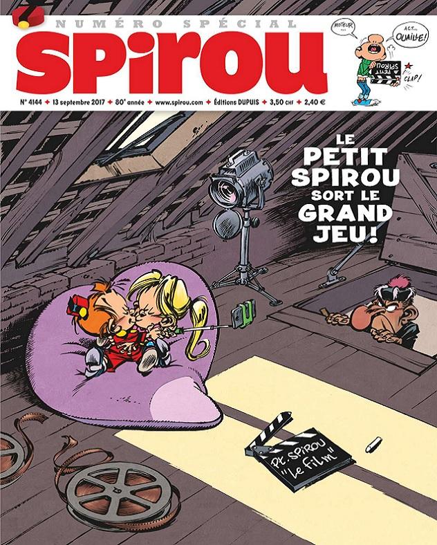 télécharger Le Journal De Spirou N°4144 Du 13 Septembre 2017