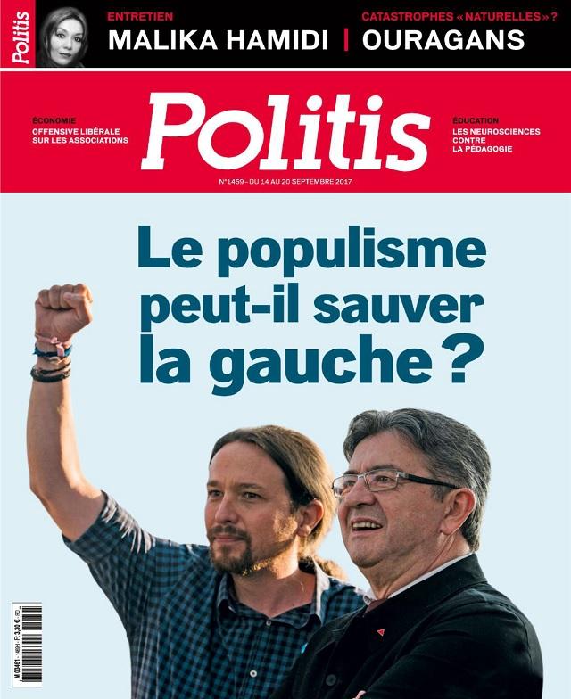 Politis N°1469 Du 14 au 20 Septembre 2017