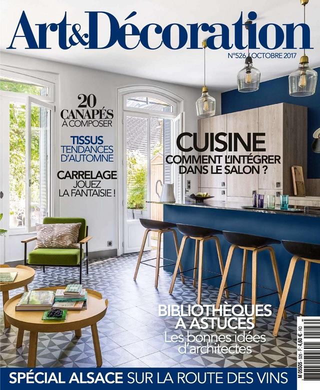 Art et Décoration N°526 - Octobre 2017