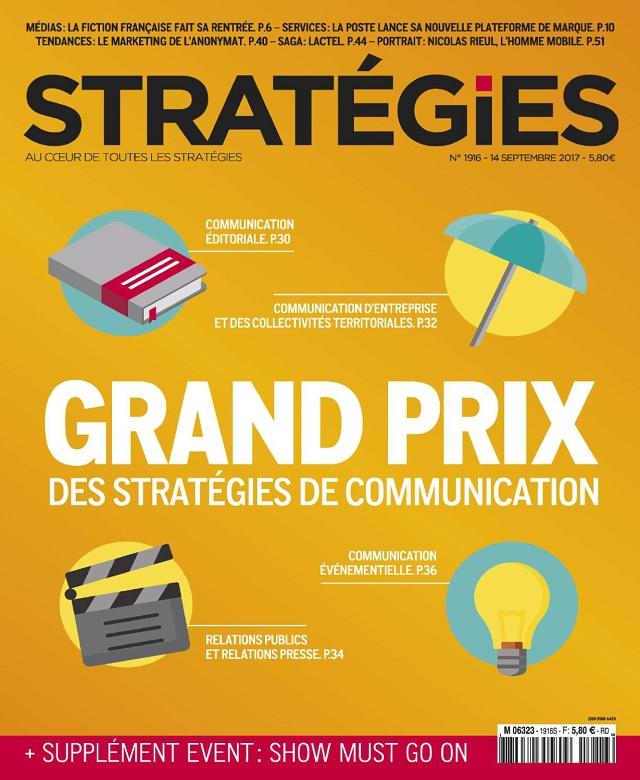Stratégies N°1916 Du 14 Septembre 2017