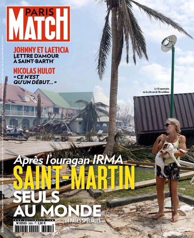 Paris Match N°3565 Du 14 au 20 Septembre 2017