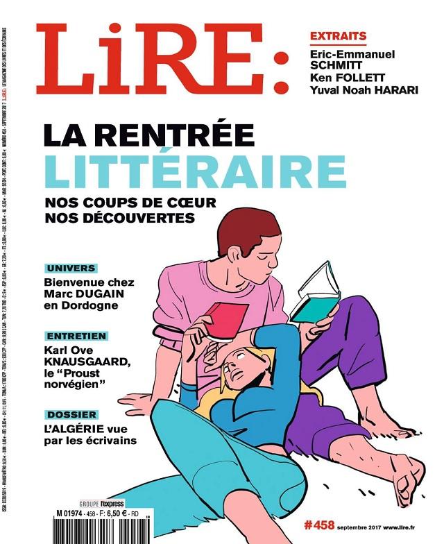 Lire N°458 - Septembre 2017