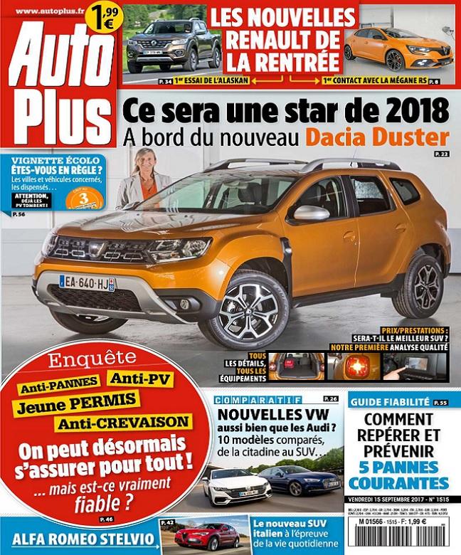 télécharger Auto Plus N°1515 Du 15 Septembre 2017